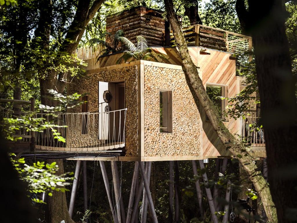 Das The Woodsman Treehouse auf dem Crafty Camping hat nichts mit herkömmlichem Camping gemein.