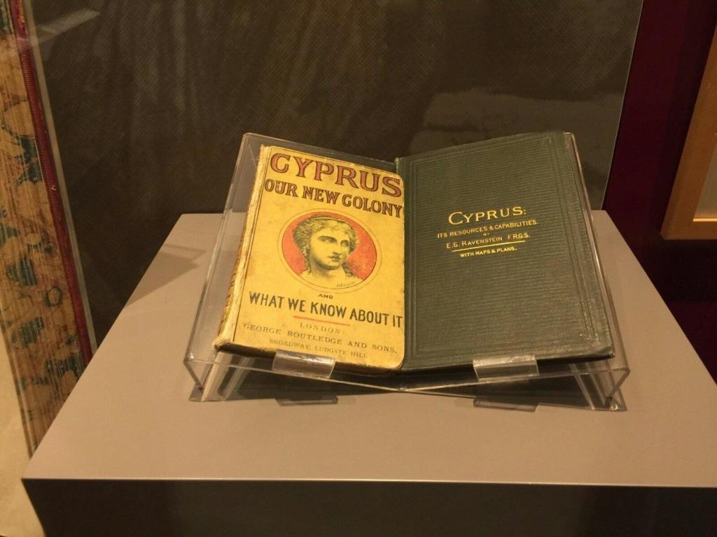 Ausstellungsstück in der A.G. Leventis Gallery in Nikosia in Zypern