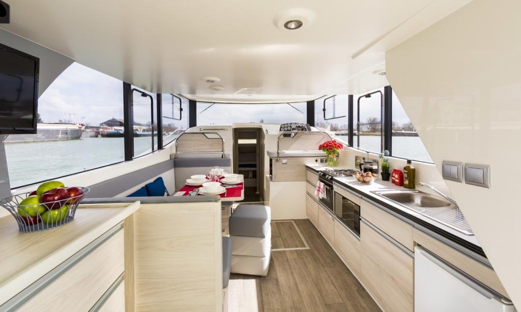Horizon Küche und Salon