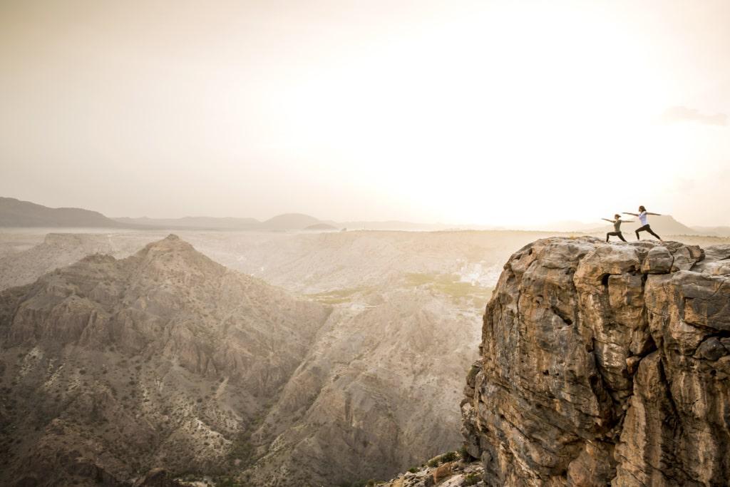 Anantara Al Jabal Al Akhdar Resort - Yoga im Oman