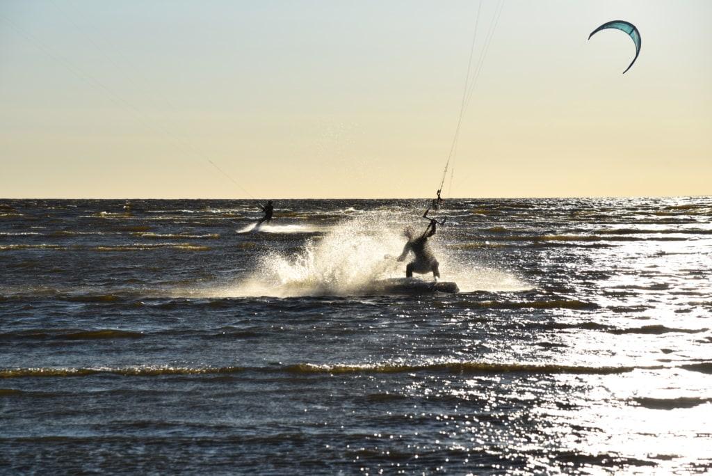 Kitesurfen in Sestrorezk - St. Petersburg