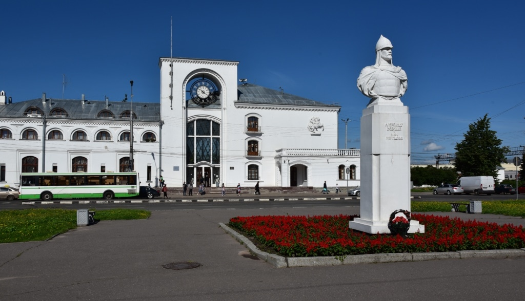 Bahnhof von Weliki Nowgorod - Russland