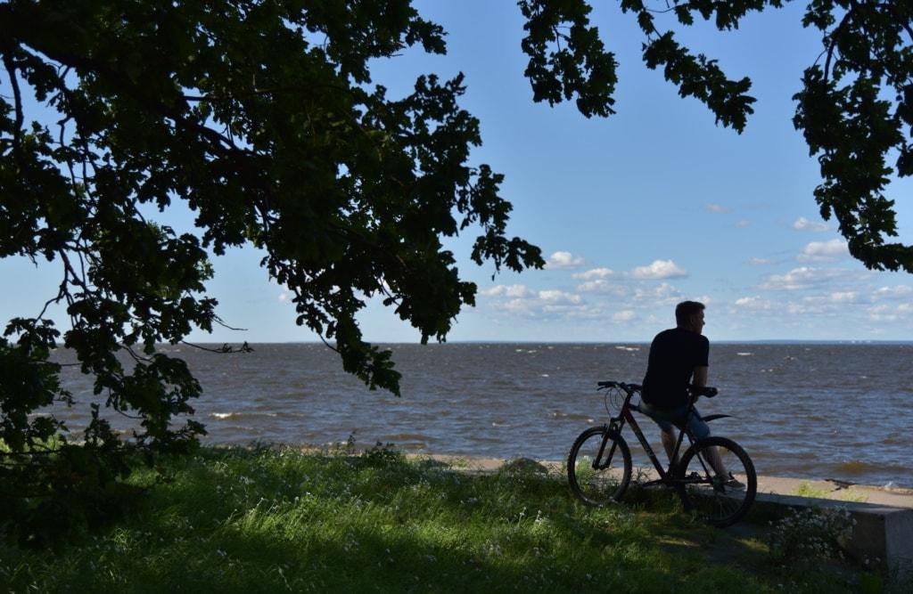 Küstenorte nahe St. Petersburg - Russland