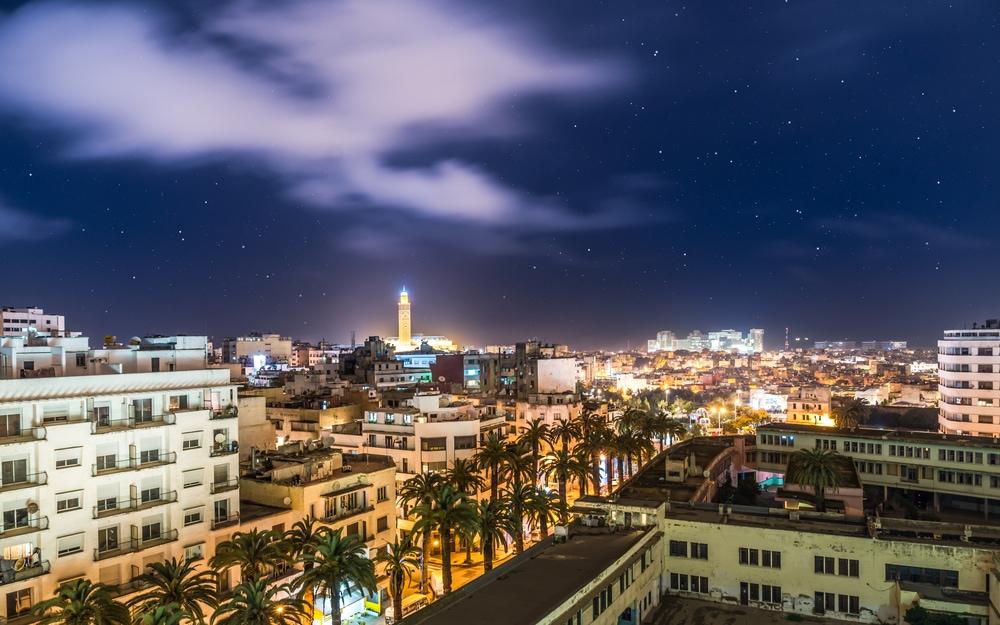 Panorama von Casablanca