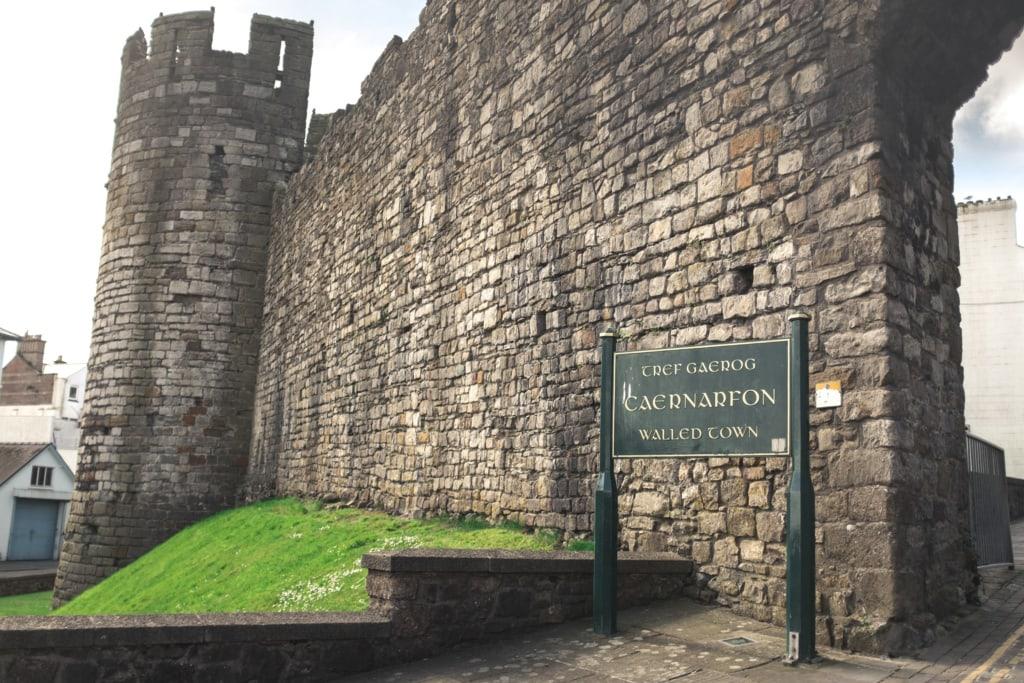 Burgen und Schlösser in Wales