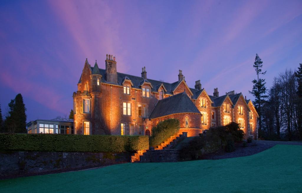Der britische Tennis-Star Andy Murray hat sich mit dem The Cromlix Hotel einen Traum erfüllt.