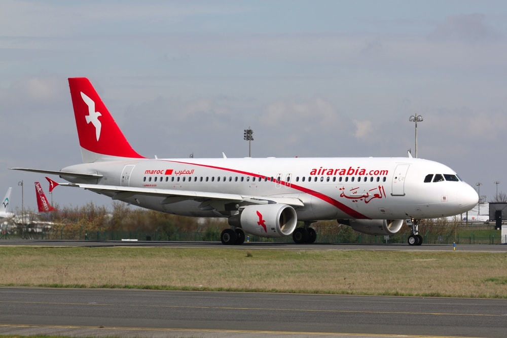 Air-Arabia-Airbus in Casablanca