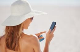 Apps im Urlaub: Auch am Strand bestens informiert