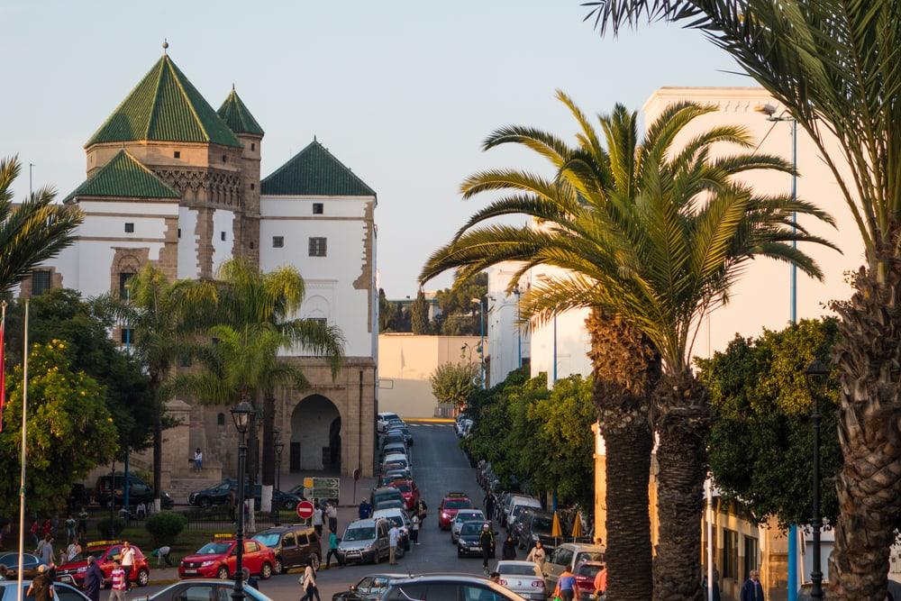 Stadtteil Habous in Casablanca