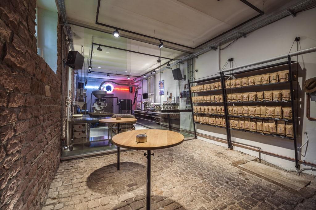Kaffeerösterei Florian Steiner in Heidelberg