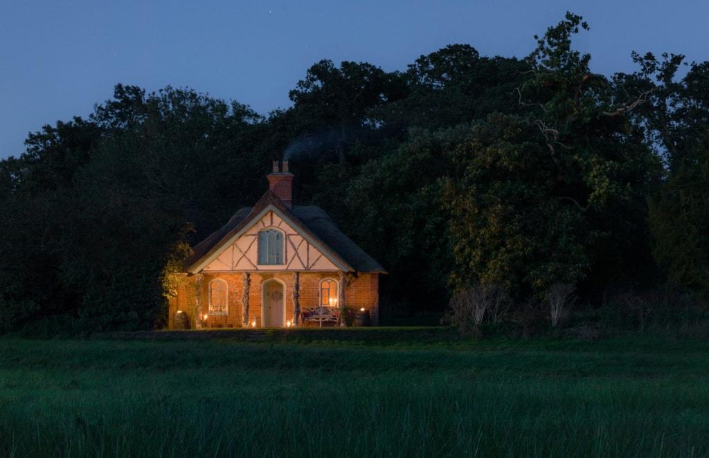 Das Hex Cottage von Wilderness Reserve ist Romantik pur.