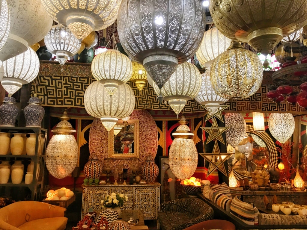 Shopping in Marrakesch