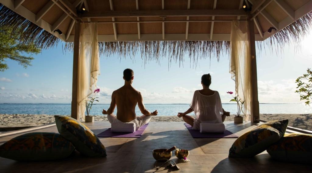 Yoga auf den Malediven