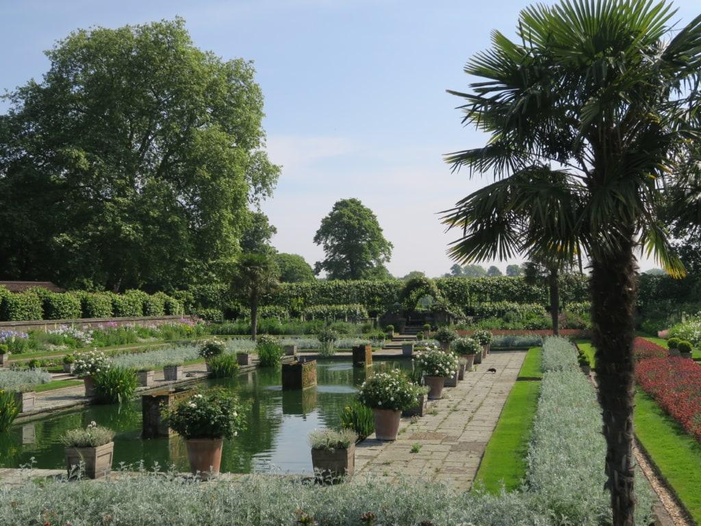 Gärten in London: Sunken Garden im Kensington Gardens