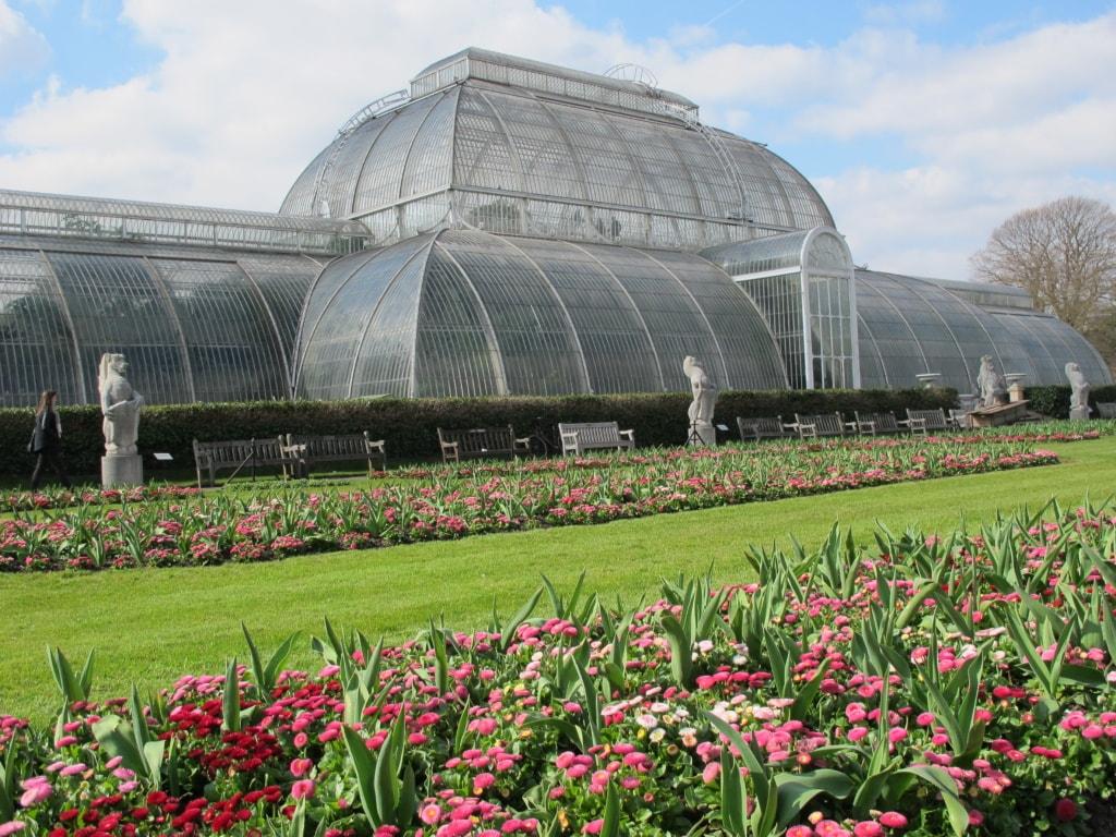 Palmenhaus in Kew Gardens in London