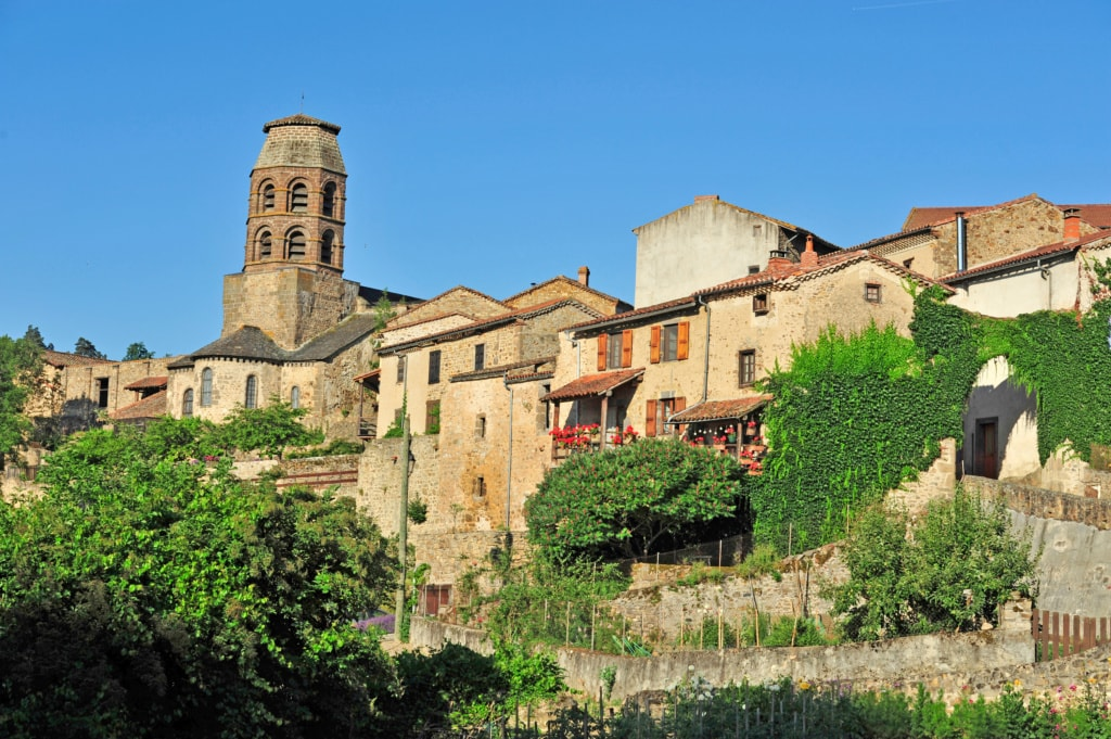 Lavaudieu in der Auvergne