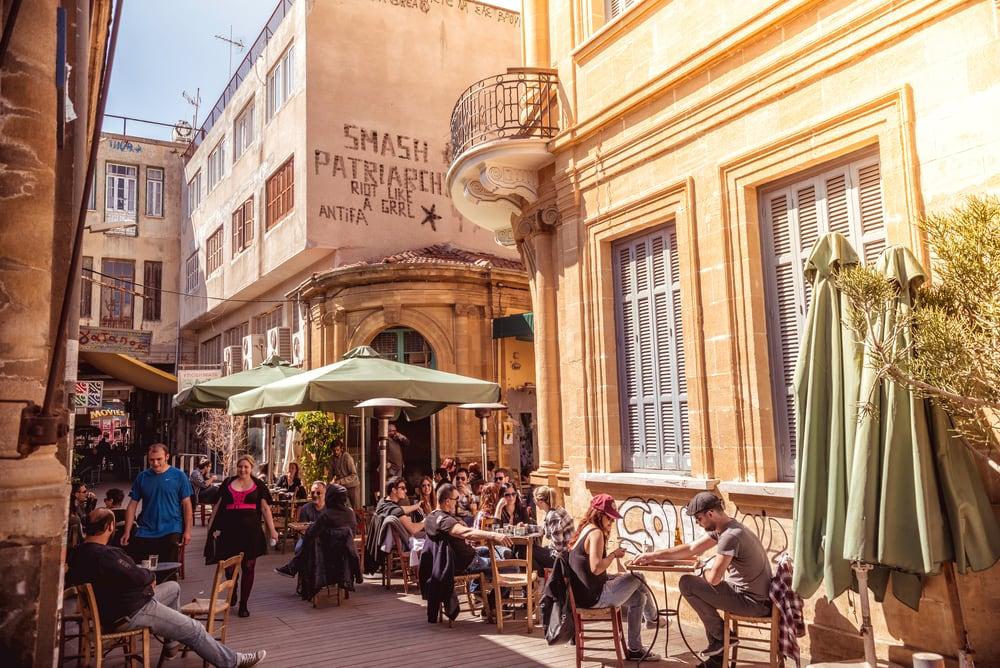 Ledra Street in Nikosia