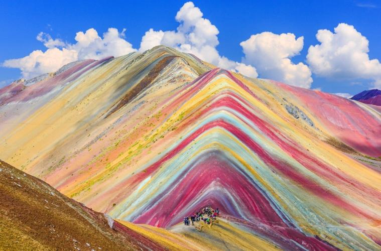 Der Rainbow Mountain darf auf keiner Reise nach Peru fehlen!