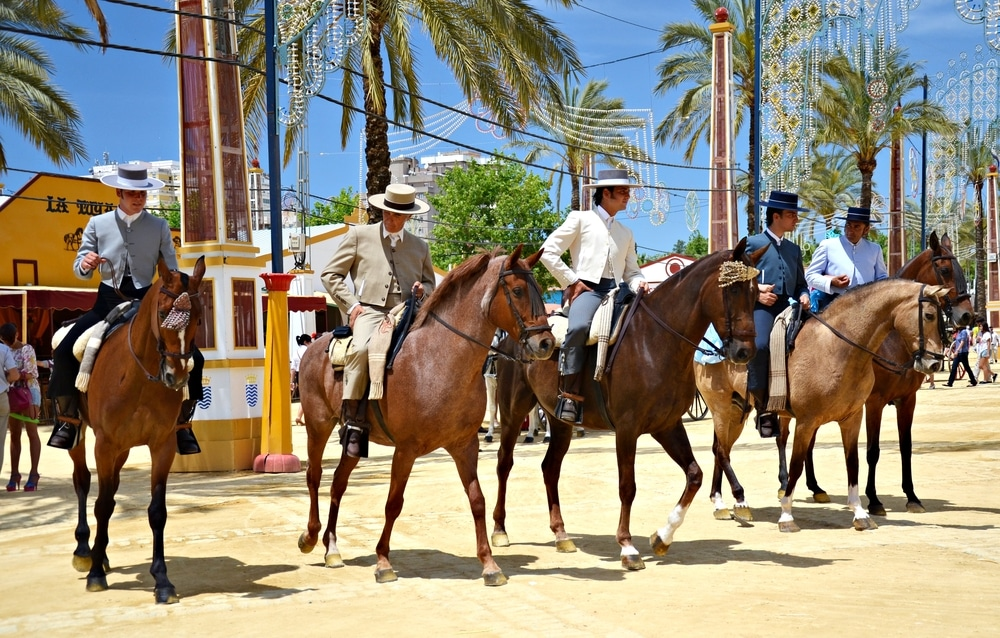 Reiter in Jerez de la Frontera