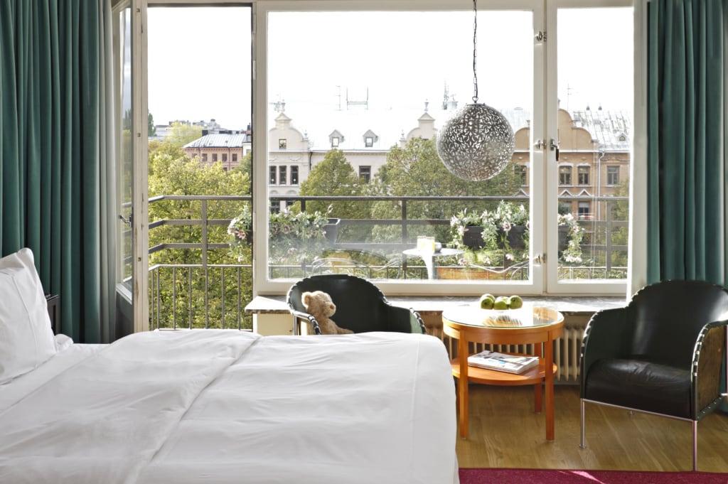Benny Anderson von ABBA eröffnete in seiner Heimatstadt Stockholm das Hotel Rival.