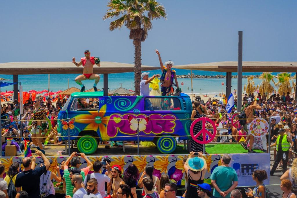 Tel Aviv ist eine der unerwarteten Gay-Metropolen auf der Welt!