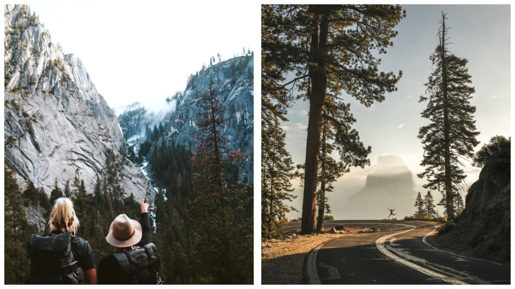 Ausflüge in Yosemite sind ein großer Spaß