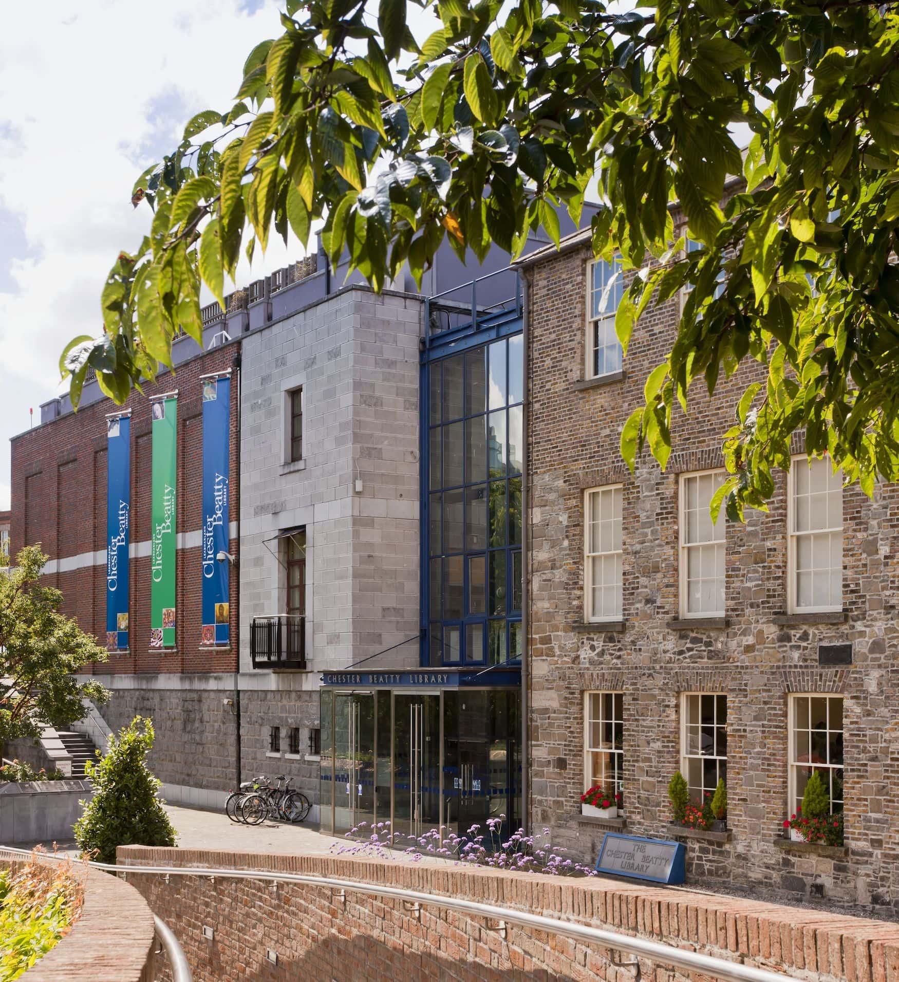Außenfassade der Chester Beatty Library
