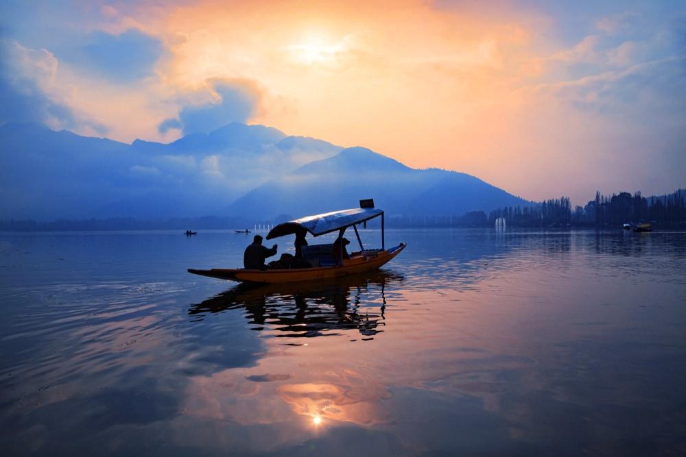 dal lake - Kashmir - indien-erlebnisse
