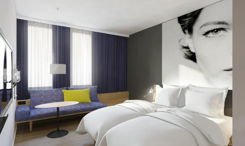 Doppelzimmer im rooms vienna prater