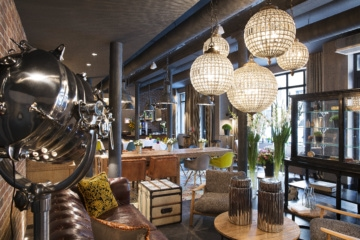 Lounge im Hotel Fabric Paris