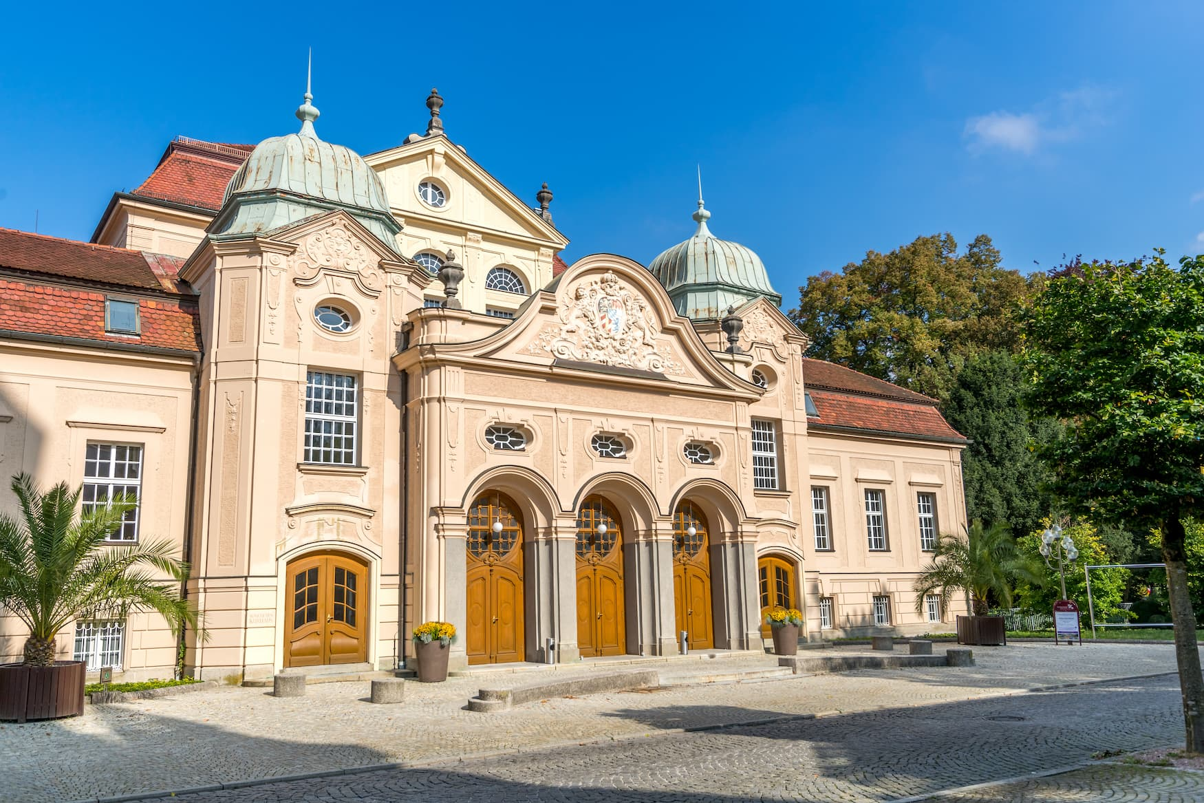 Der Königliche KurgartenBad Reichenhall ist einer der schönsten Kurparks in Bayern