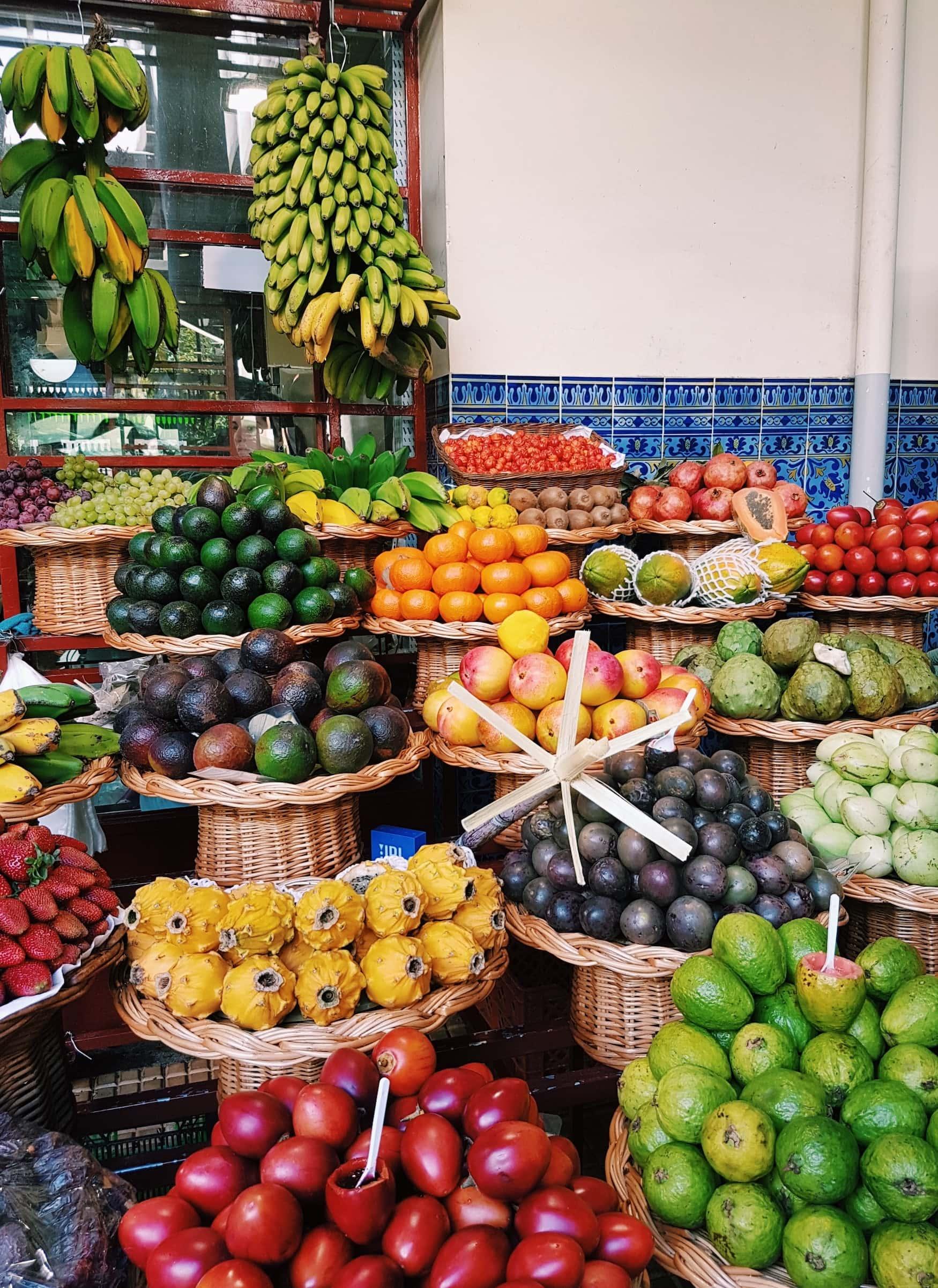 Unsere Tipps: Unbedingt das Obst und Gemüse auf Madeira probieren