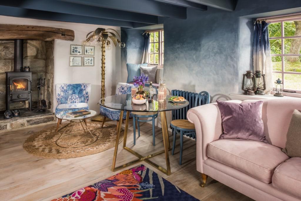 Das Siren Cottage in Cornwall lädt zu einem romantischen Wochenende ein.