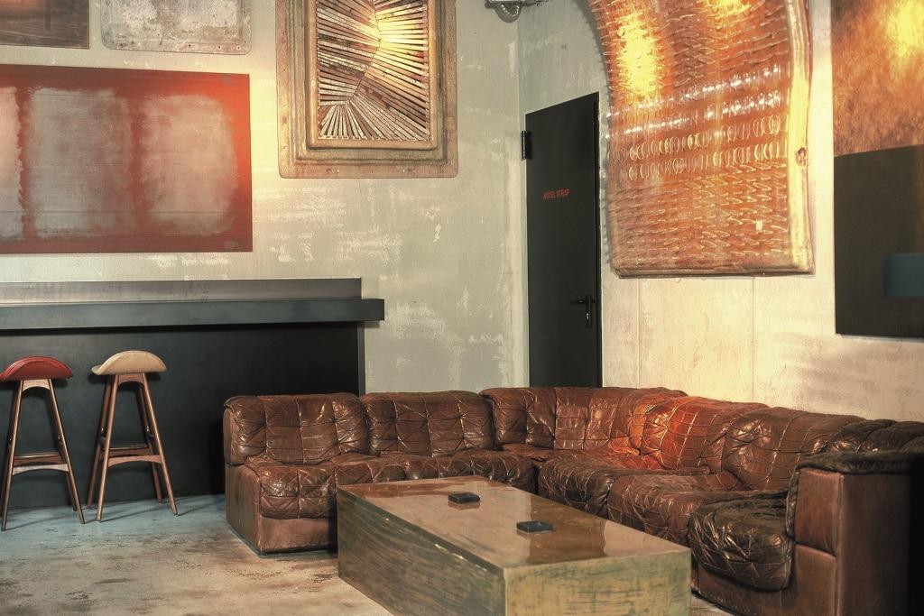 Vintage-Hotel: Milan Bar im Straf Hotel