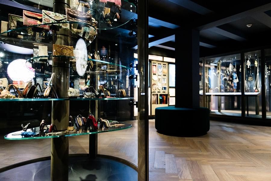 Das Taschenmuseum in Amsterdam liegt in einem tollen Grachtenhaus.
