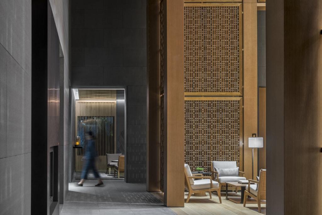 Lobby des Amanyangyun Shanghai
