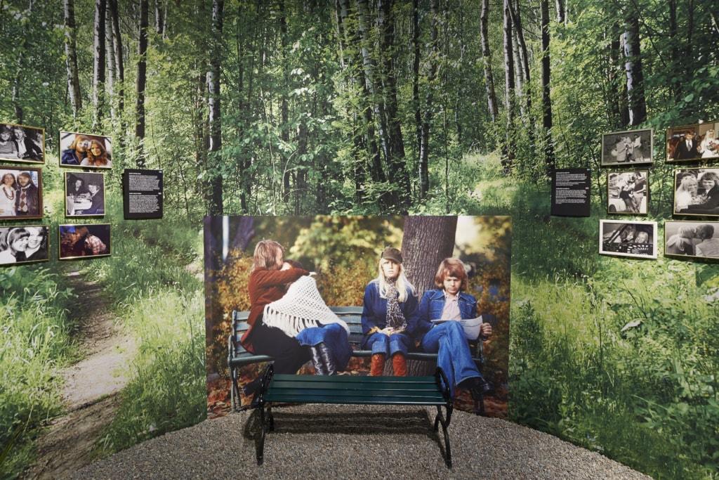 Im ABBA Museum erfahren Fans der Kultband alles Wissenswerte über die vier Musiker.