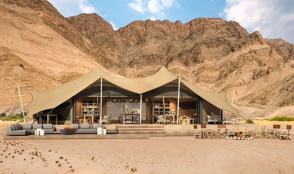 Hoanib Valley Lodge in Namibia