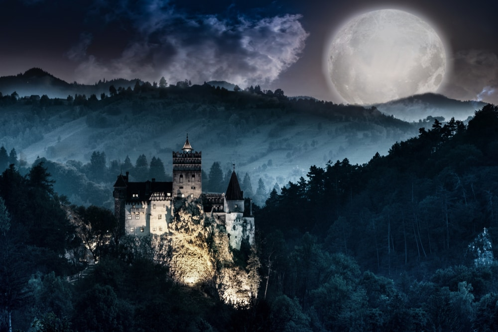 Orte zum Gruseln: Schloss Bran in Rumänien