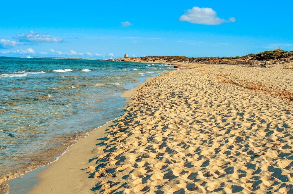 Es Cavallet Strand auf Ibiza