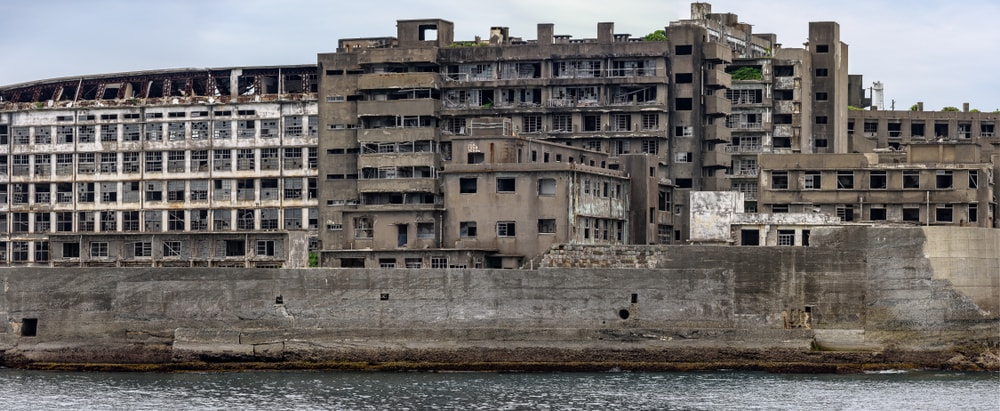 Hashima-Insel in Japan