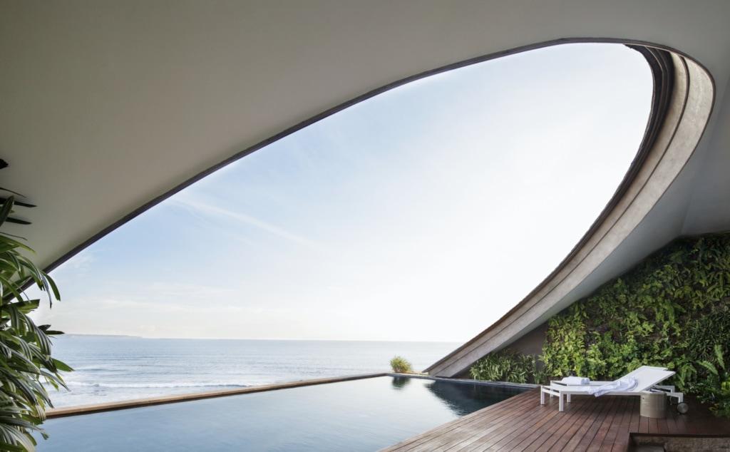 Penthouse des Como Uma Canggu an der Südküste Balis