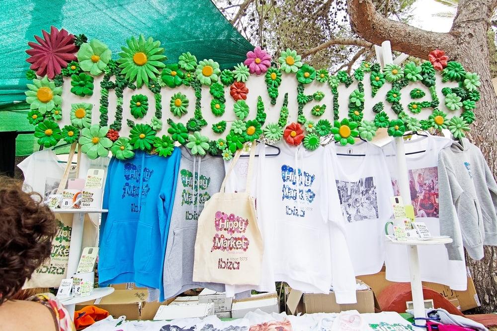 Hippie-Markt auf Ibiza