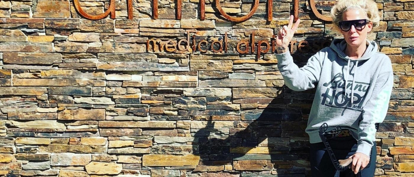 Ala Zander im Armona Medical Alpinresort