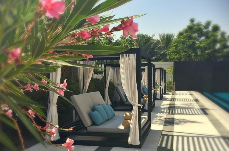 Pool des Kempinski Hotel Muscat