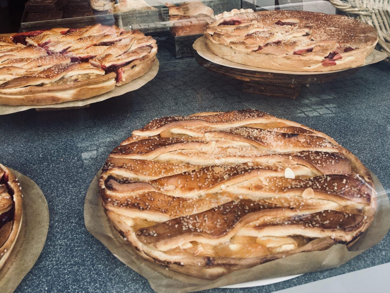 Vlaai Kuchen mit Kirschfüllung