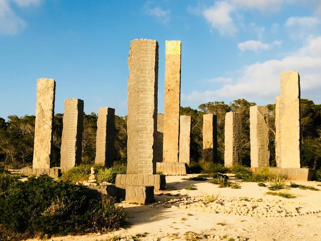 Monolithe auf Ibiza