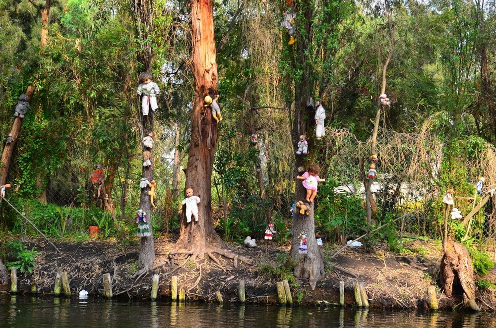 Orte zum Gruseln: Insel der Puppen in Mexiko