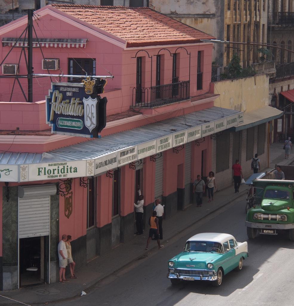 El Floridita - Bar von Ernest hemingway in Havanna