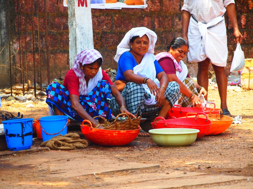 Markt in Kerala